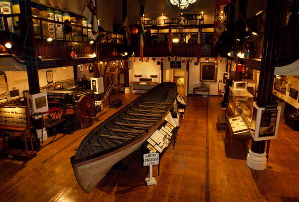 National Maritime Museum, Dún Laoghaire, Co Dublin, Ireland; Interior Of A Maritime Museum (photo)