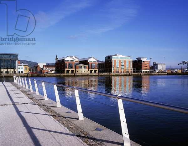 Clarendon Dock And The Odyssey Complex, Belfast, Ireland (photo)