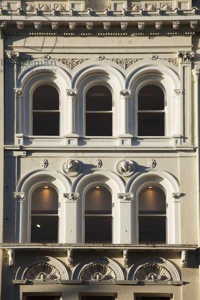 Ornate Facade Of A Building; Cork City, County Cork, Ireland (photo)