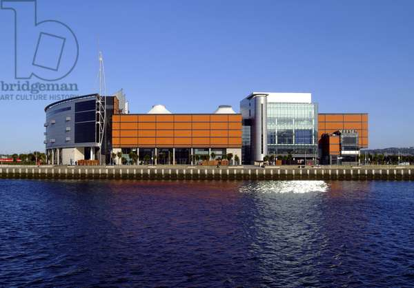 Building At The Waterfront, Odyssey, Queen's Island, Belfast, Northern Ireland (photo)