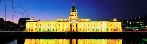 Custom House, Dublin, Co Dublin, Ireland; 18Th Century Building Designed By James Gandon (photo)