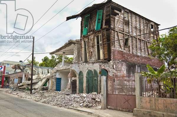 Buildings Collapsed after the Earthquake, Jacmel, Haiti (photo)