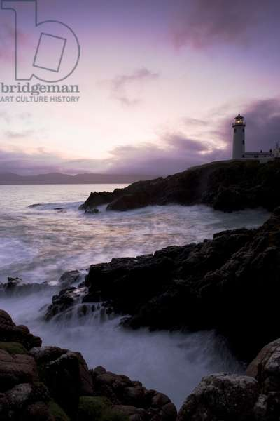 Fanad Head, County Donegal, Ireland; Lighthouse And Seascape (photo)