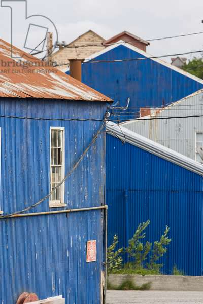 Old Cannery Buildings At Trident Seafoods' Semi-Retired South Naknek Cannery; Bristol Bay Alaska United States Of America (photo)
