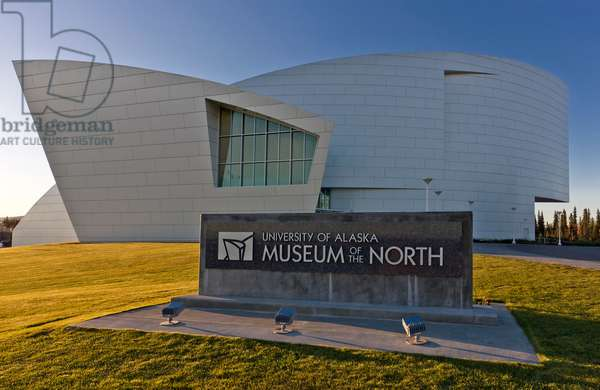 University Of Alaska Museum Of The North, Fairbanks, Interior Alaska, Autumn (photo)