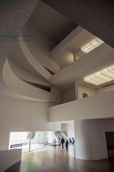Brazil, Interior of Ibere Camargo Museum, Porto Alegre (photo)