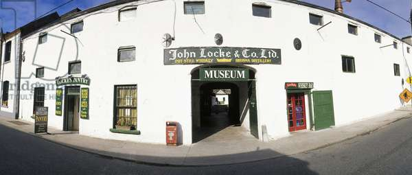 Kilbeggan, Co Westmeath, Ireland, John Locke Whiskey Museum (photo)