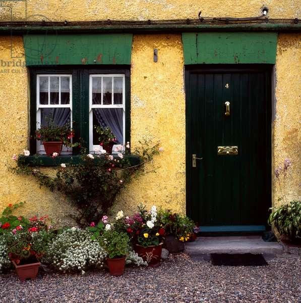 Cottage At Bushmills, Co Antrim, Ireland (photo)