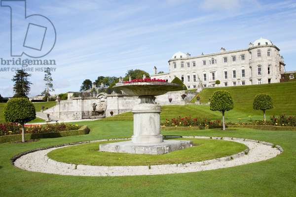 Powerscourt House And Gardens; Enniskerry, County Wicklow, Ireland (photo)