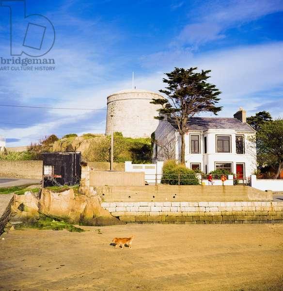 Sandycove, Co Dublin, Ireland, Joyce's Tower (photo)