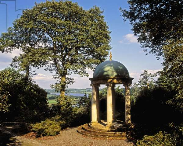 Small Temple, Overlooking River Suir, Mount Congreve, Co Waterford, Ireland (photo)