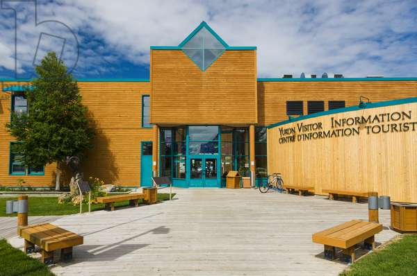 The Yukon Visitor Center, Whitehorse, Yukon Territory, Canada, Summer (photo)