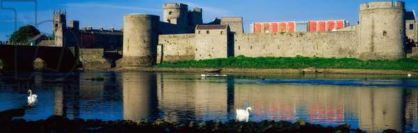 King John's Castle, And River Shannon, Limerick City, Ireland (photo)