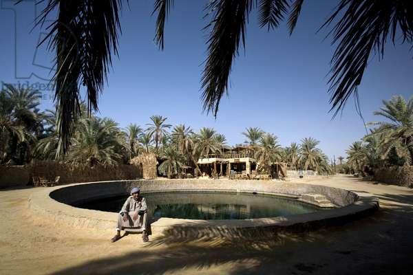 Cleopatra Bath in Siwa Oasis, Siwa, Egypt, Africa (photo)