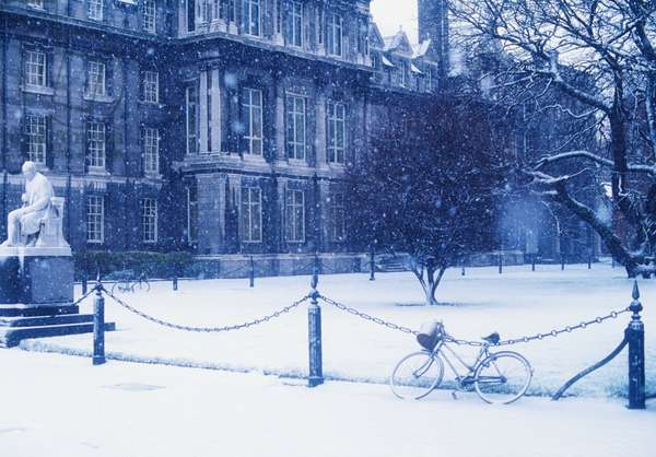 Trinity College, Dublin, Co Dublin, Ireland; College Built In The 19Th Century (photo)