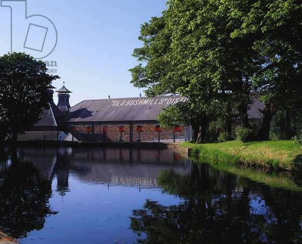 Old Bushmills' Distillery, Co Antrim, Ireland, World's Oldest Licensed Whiskey Distillery (photo)