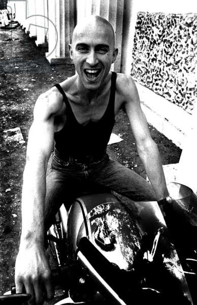 Richard O'Brien, 1981 (b/w photo)