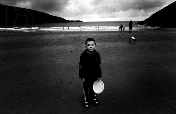 Galen, 1998 (b/w photo)