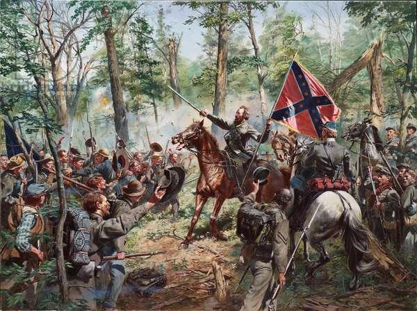General Thomas J. Jackson, 1997 (oil on canvas)
