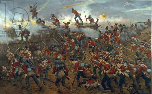 War of 1812: Battle of New Orleans, January 8th 1815, 2008 (oil on canvas)