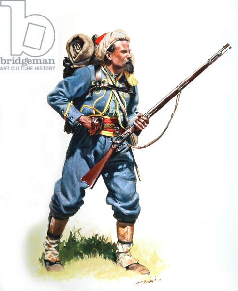 Union Army, 146th New York Volunteers, 1991 (w/c & gouache on paper)