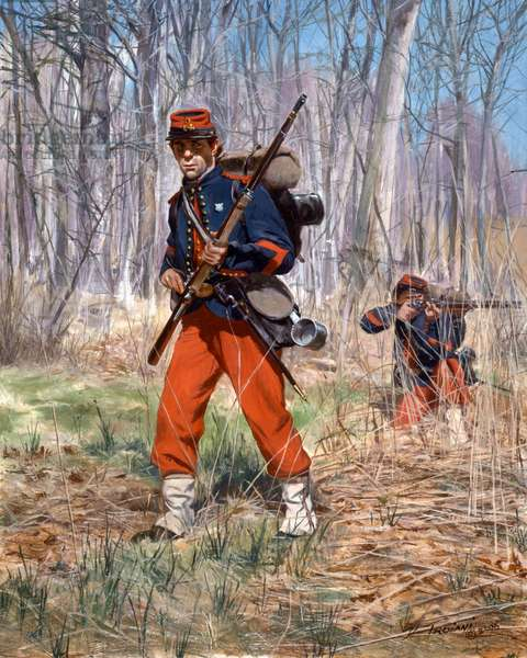Union Army, 14th Regiment New York State Militia, 2006 (oil on canvas)