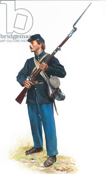 Union Army, 2013 (w/c & gouache on paper)