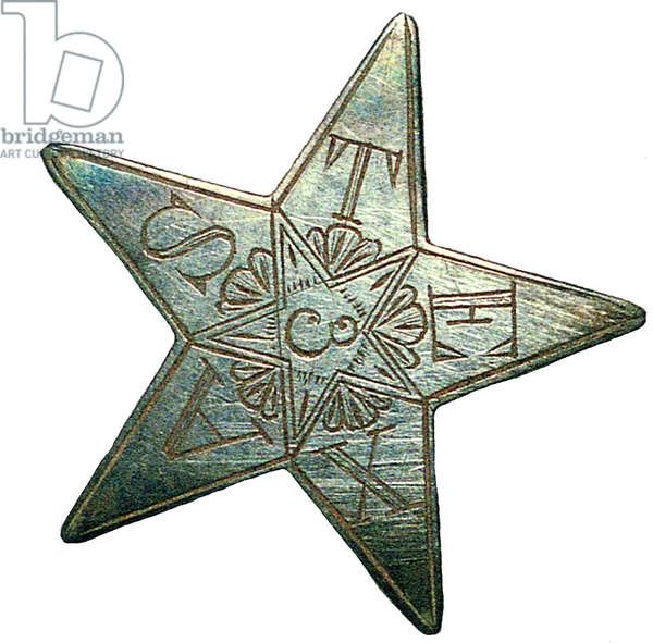 American Civil War, 3rd Texas Hat star