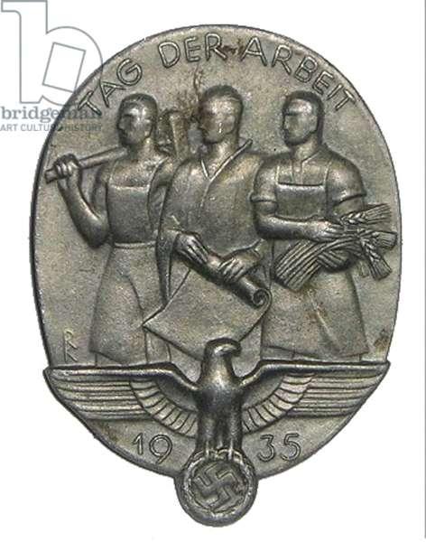 Nazi Germany ,Nazi Party Day 1935 badge