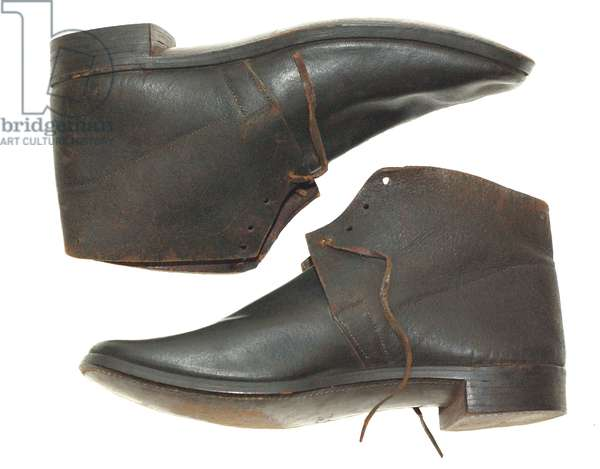 US issue Army shoes circa 1857