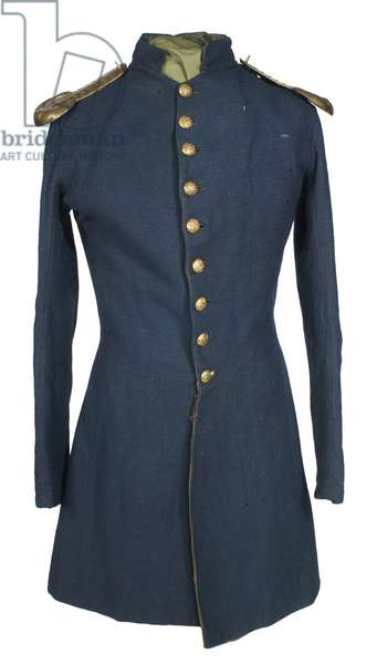 United States Civil War. Frock coat worn by Musician John Currier of the 6th New Hampshire