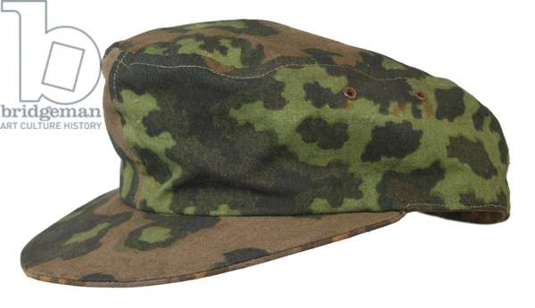 Nazi Germany, Waffen SS Camouflage field cap