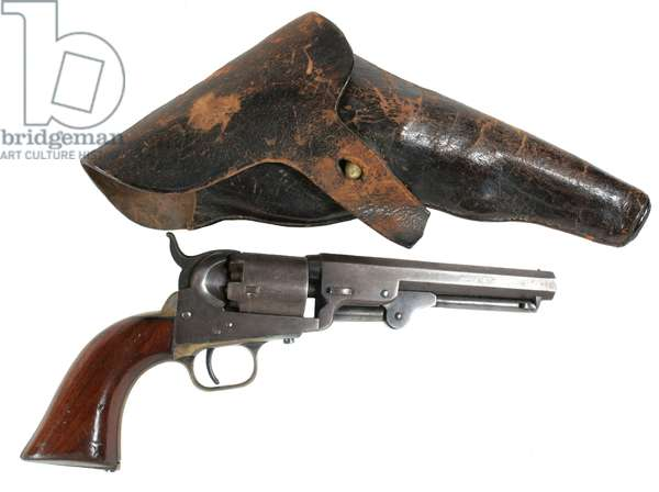 Colt Pocket model revolver and holster