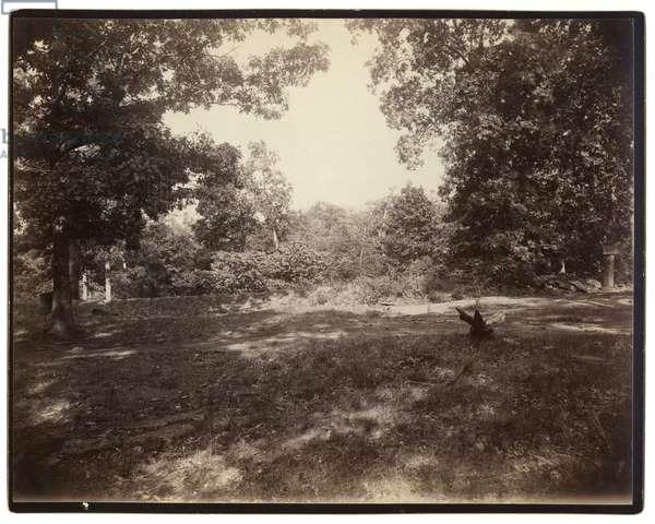United States Civil War , General Green's works on Culps Hill, Gettysburg