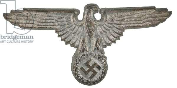 Nazi Germany, SS metal cap eagle insignia