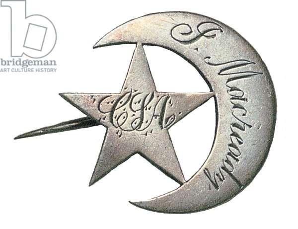 American Civil War, Confederate Louisiana Hat Badge