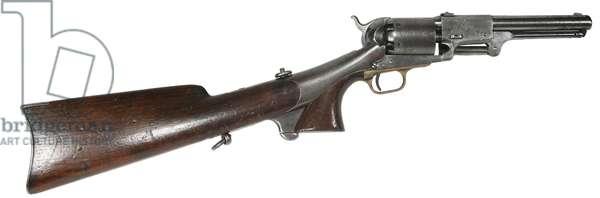 Civil War, Colt 3rd Model Dragoon Revolver with detachable shoulder stock
