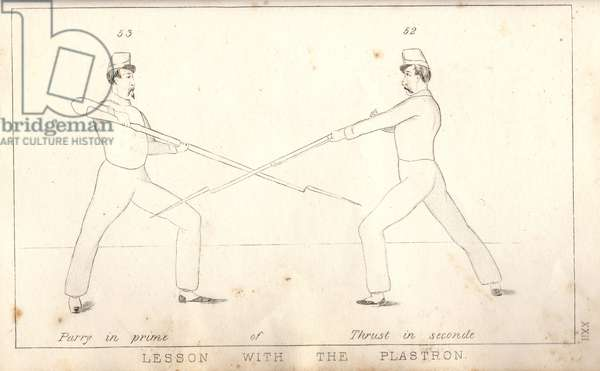 United States Civil War , Illustration from 1862 Manual of Bayonet Exercise