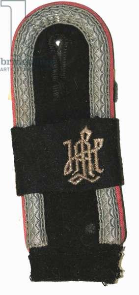 Nazi Germany , Waffen SS Panzer shoulder board