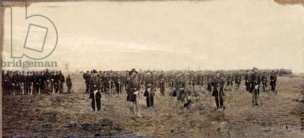 17th Maine Volunteers on parade