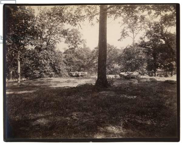United States Civil War , General Green's earthworks on Culps Hill, Gettysburg