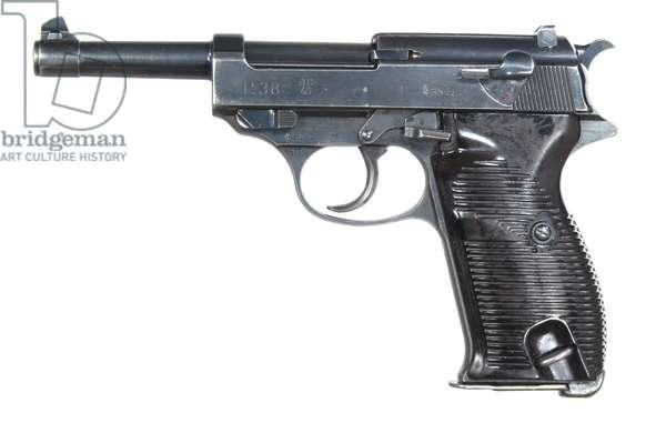 Nazi Germany, P-38 (Pistole 38) 9mm Semi-Automatic Pistol