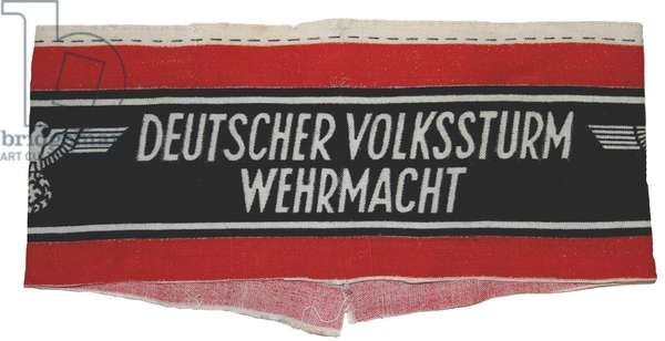 Nazi Germany ,Volkssturm (home Guard) armband
