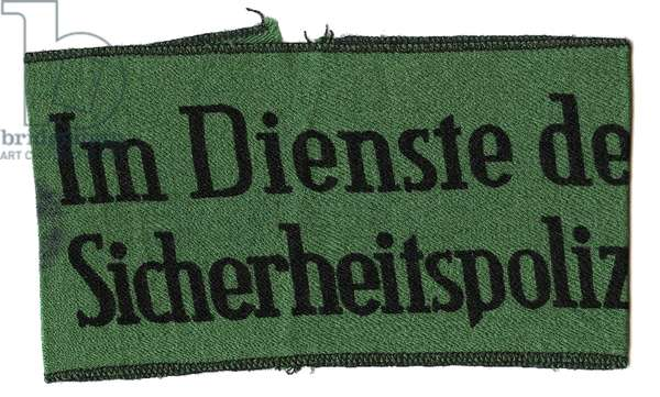 Nazi Germany, SS Pre War Medical Collar Patch