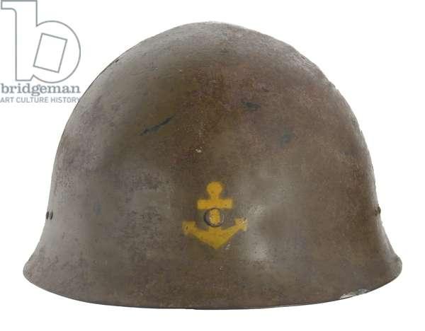 Japan, Late war Model 1932 Imperial Naval Landing Forces (Marines) helmet