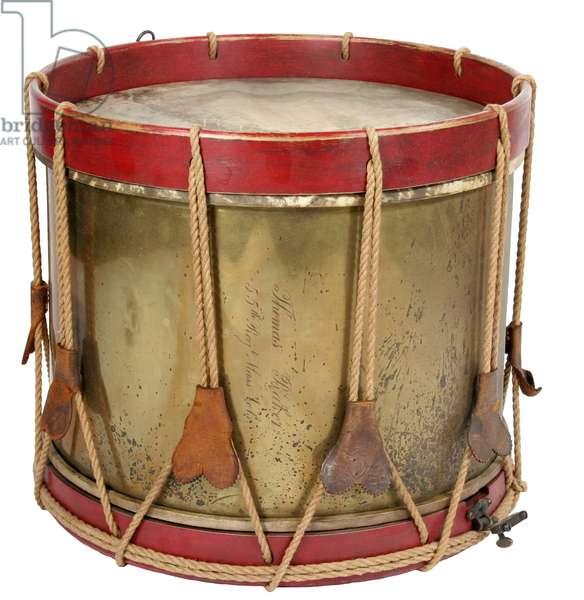 Brass Drum of the 55th Massachusetts Regiment , African American