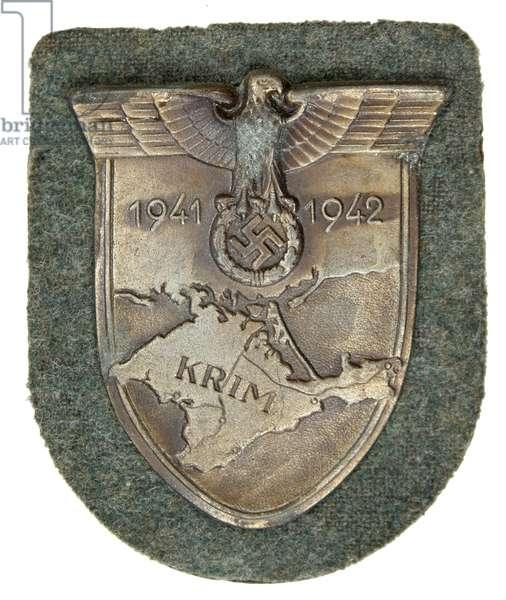 Nazi Germany, Crimea Arm shield , Krimschild