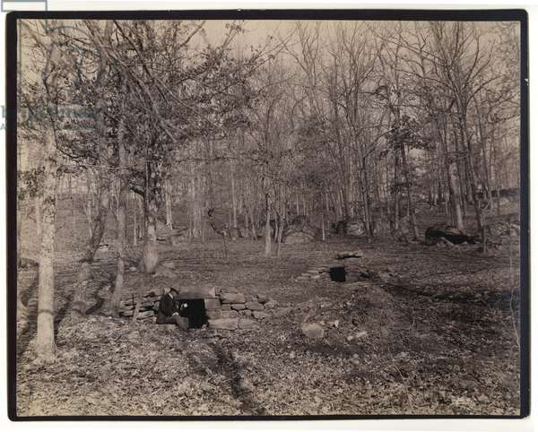 United States Civil War : Spanglers Spring Gettysburg 1880
