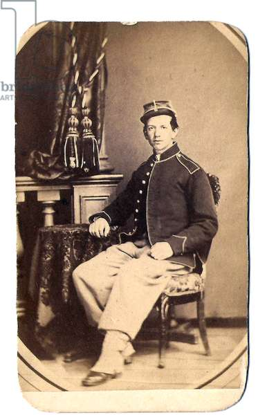 American Civil War,  Soldier of the 109th Pennsylvania Regiment