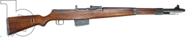 Nazi Germany, Gewehr 41 , 7.92×57mm caliber, semi-automatic rifle